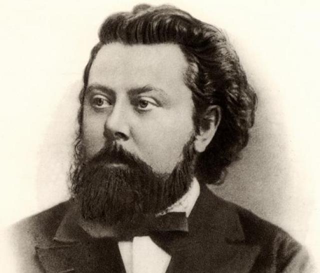 """Модест Мусоргский. Великий русский композитор, автор """"Бориса Годунова"""", имел одну, но большую страсть - выпивку. Он даже умер в больнице от белой горячки."""