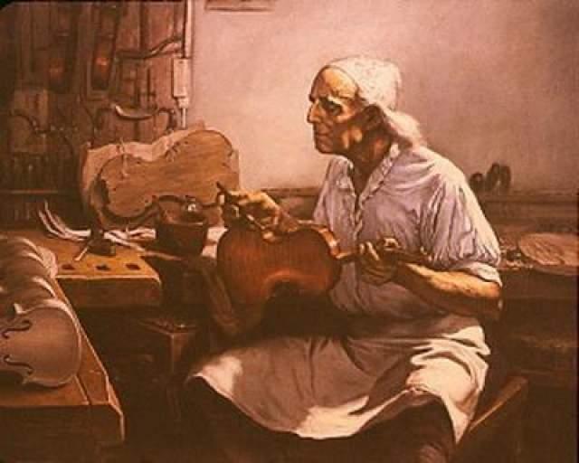 Антонио Страдивари (1644 - 1737) Страдивари был известнейшим итальянским мастером по созданию струнных инструментов, таких как скрипки, виолончели, гитары и арфы. На протяжении веков ученые и историки пытались выяснить секрет Страдивари.