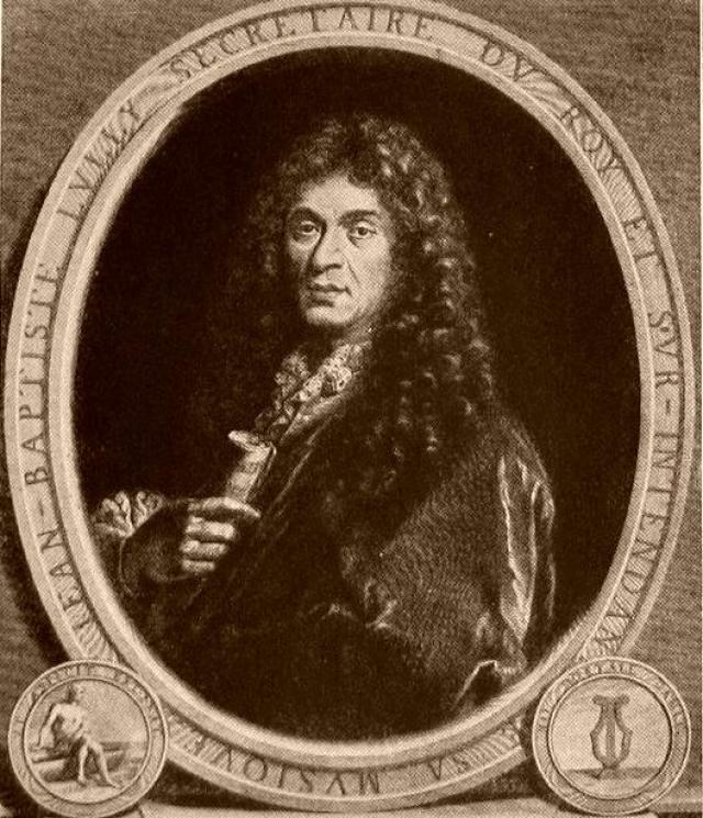 Жан-Батист Люлли. Композитор XVII века, писавший музыку для французского короля, погиб от увлеченности своим делом.