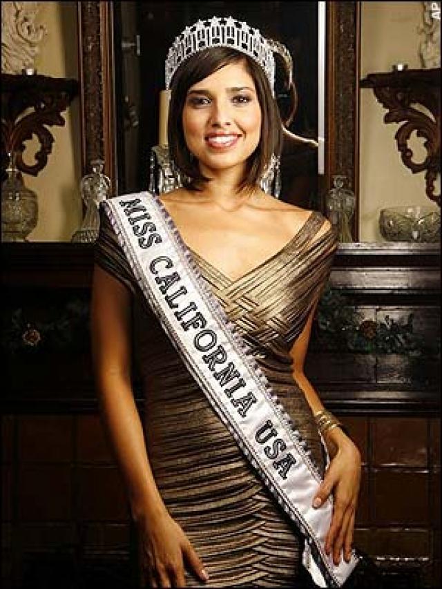 В ноябре 2007 года 24-летняя Кристина Силва была объявлена Мисс Калифорния, однако лишилась своей короны уже через несколько дней.