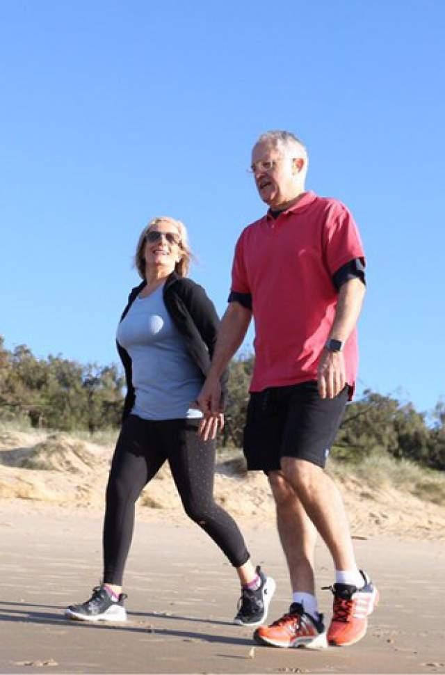Кстати, в занятиях спортом Малькольм поддерживает и его супруга, Люси Тернбулл.