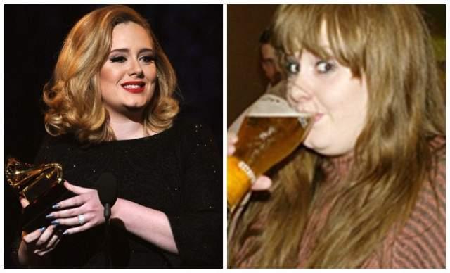 Адель Известная британская певица Адель с помощью алкоголя пыталась забыть о проблемах в личной жизни и лишнем весе. Артистка пережевала по поводу того, как выглядит на сцене, поэтому выпивала перед каждым концертом, но однажды она напилась настолько сильно, что забыла слова песни. После этого инцидента звезда решила прекратить экспериментировать со спиртным.