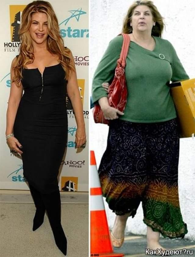 Звезда поправилась в последние годы так сильно, что за нее начали беспокоиться врачи. Но актриса, судя по всему, ничего не предпринимает.