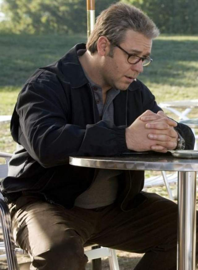 """Для роли агента ЦРУ в шпионском боевике Ридли Скотта """"Совокупность лжи"""" (2008) Рассел Кроу поправился на 29 кг."""