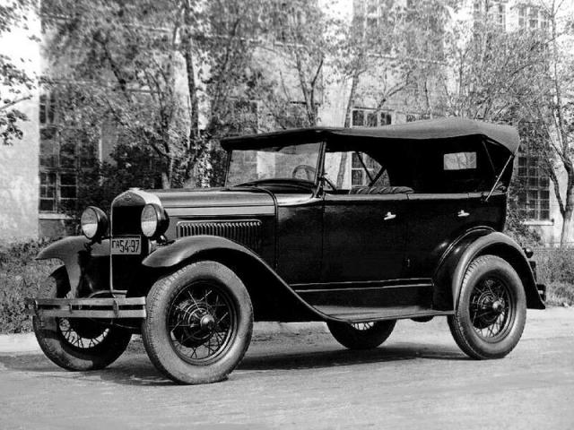 В 1929 году советское правительство покупает у Ford Motor Company все оборудование и технологии для лицензионного выпуска Ford Model A под названием ГАЗ-А.