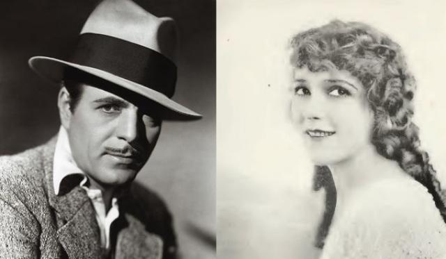 "1930 - Уорнер Бакстер (""В старой Аризоне"")/Мэри Пикфорд (""Кокетка"")"