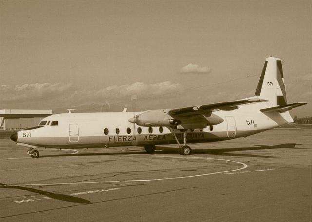 Fairchild FH-227D был выпущен в 1968 году и в том же году передан Уругвайским ВВС. На день катастрофы налетал 792 часа.