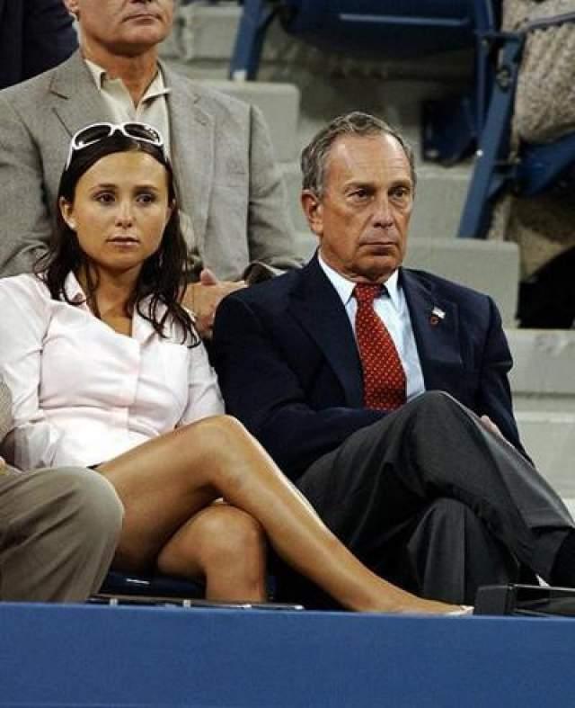 Джорджина Блумберг - дочь мэра Нью-Йорка и основателя медиа-империи Майкла Блумберга, состояние которого оценивается в $11,5 млрд. Дочь делами отца не занимается, профессионально увлекаясь конным спортом.