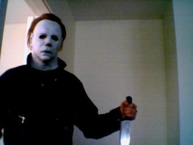 """Персонаж в маске Майкл Майерс (""""Хэллоуин"""")"""