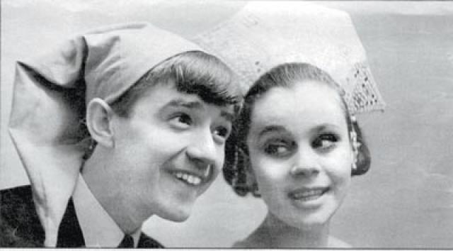 """Любовь Полищук. В 1967 году актриса вышла замуж за актера Валерия Макарова, которого знала еще по совместной работе в проекте """"Омичи на эстраде""""."""