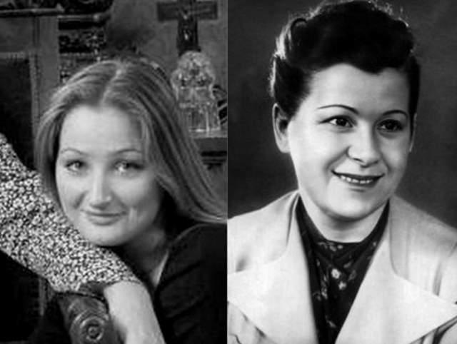 И вот в той молодости оперная дива, вдова депутата Дениса Вороненкова, была на свою именитую бабушку очень похожа.