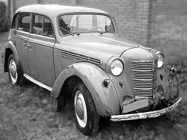 Москвич-401 1954 года даже не копия, а в чистом виде Опель Кадетт К38 образца 1938 года.