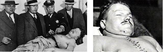 В возрасте 25 лет его застрелили ФБР-овцы, которых за свою жизнь он успел убить больше, чем какой-либо другой гангстер в те времена.