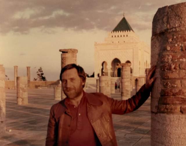 Владимир Высоцкий в Рабате, Марокко.