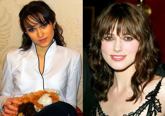 В банковском сотруднике из Тюмени многие пользователи увидели сходство с актрисой Кирой Найтли .
