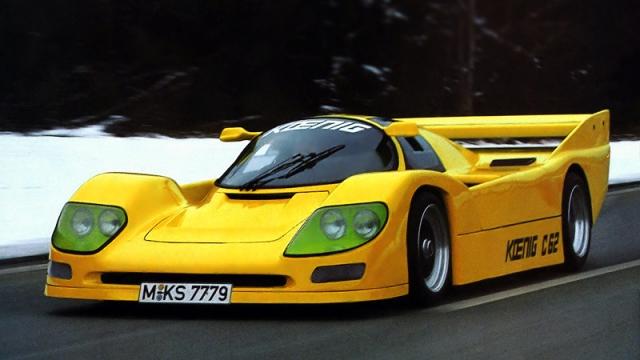 Koenig C62 - $2 070 000. Болид C62 - копия легендарного гоночного спортпрототипа Porsche 962.