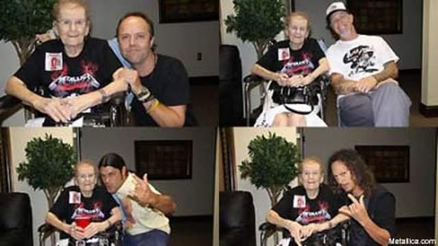 В 2009 году 85-летняя американка Маргарет объявила, что песни группы Metallica вылечили ее от рака. История подняла столько шумихи, что о ней узнали даже участники коллектива и пригласили Маргарет на свой концерт, хотя на него уже давно были распроданы билеты.