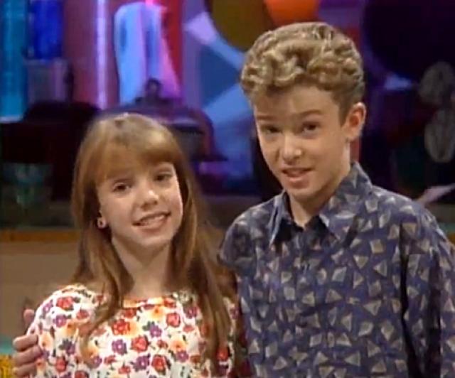 """Джастин Тимберлейк. Именно на шоу """"Клуб Микки Мауса"""", в возрасте 12 лет будущий секс-символ и кумир миллионов познакомился со своей будущей подружкой Бритни."""