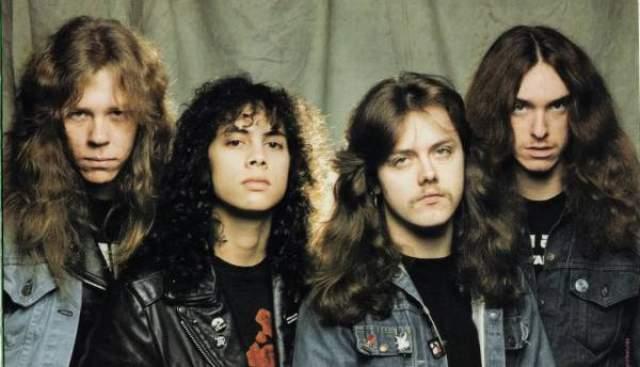 Metallica. По настоящему культовая в нашей стране, да и во всем мире, группа, наиболее популярная, наверное, среди мужского пола.