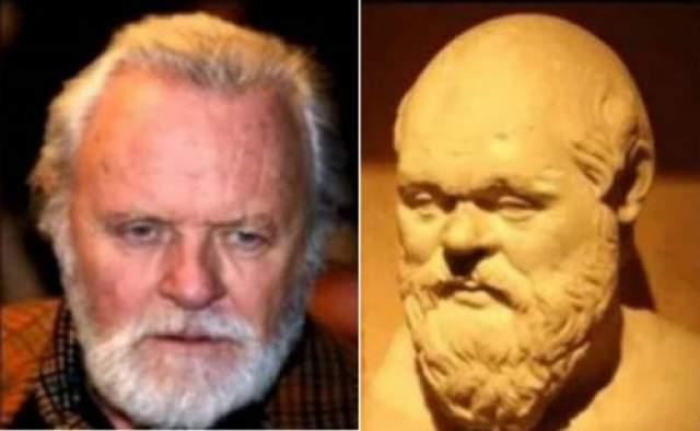 Энтони Хопкинс и Сократ