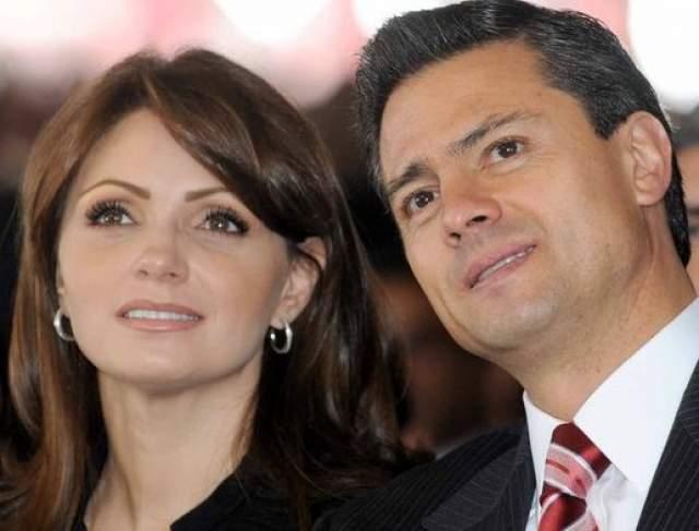 Анхелика Ривера. Жена Энрике Пенья Ньето, президента Мексики. Актриса и певица. Родилась в семье, где кроме родителей было еще шестеро детей.