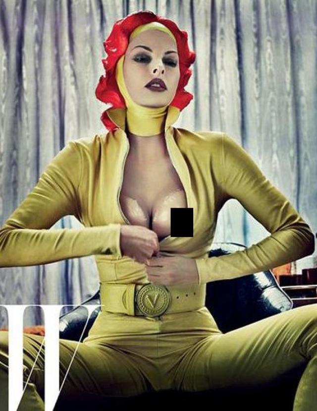 Откровенная фотосессия 47-летней топ-модели Линды Евангелисты украсила страницы fashion-издания W.