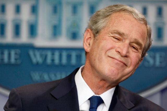"""Чемпионом мира по части скандальных заявлений, безусловно, может считаться бывший президент США и """"дьявол во плоти"""" Джордж Буш -младший."""