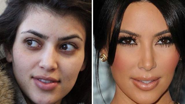 Ким Кардашьян. Звезда реалити показала, наверное, все, что могла, однако за фото без макияжа мы должны благодарить папарацци.