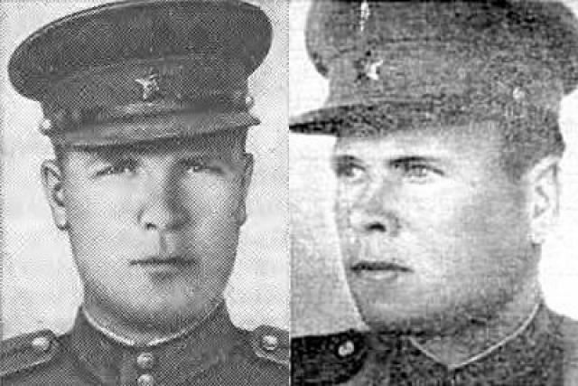 Уроженец Тульской области Голосов был знаменитым снайпером. Он лично уничтожил более 400 фашистов, командовал легендарной снайперской ротой.