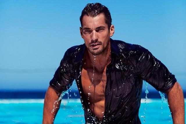 Дэвид Ганди. Британский красавец, который уже более десяти лет является лицом рекламной кампании мужского аромата Dolce&Gabbana Light Blue, до сих пор холост.