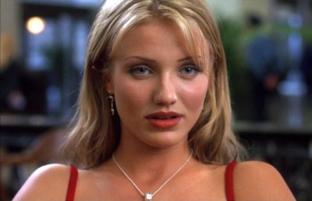 Камерон Диаз. Модель и актриса сделала головокружительную карьеру во многом благодаря своей привлекательной внешности.