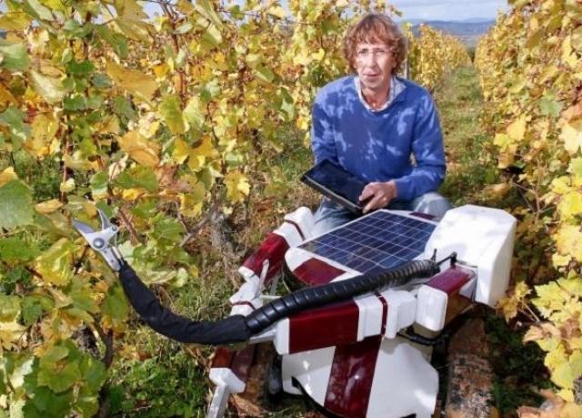 15. Wall-Ye Робот-садовник. Маленький садовник, похожий на Wall-E, готов помогать вам в саду и стричь растения, контролировать состояние вашего сада или огорода весь дачный сезон.