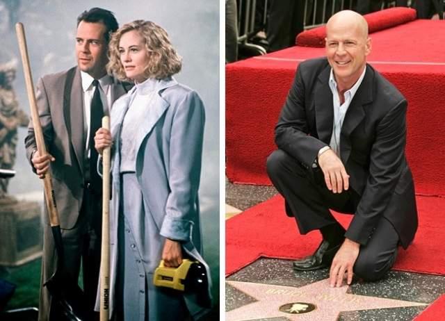 """Брюс Уиллис Брюс Уиллис долго обивал пороги киностудий, прежде чем получил роль в телесериале """"Детективное агенство """"Лунный свет"""", благодаря которой его заметили и зрители, и кинопродюсеры."""