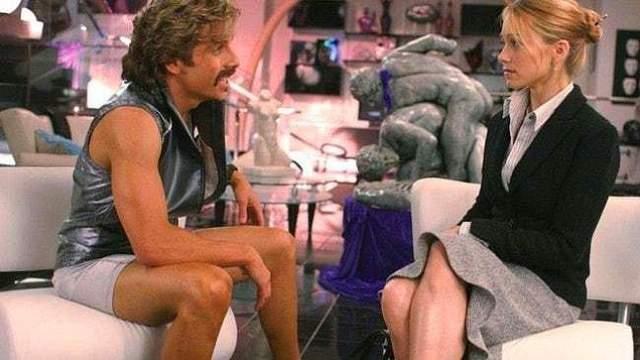 """Кристин Тейлор и Бен Стиллер Актер и режиссер встретил свою будущую жену Кристин Тейлор на съемках пилотной серии """"Тепловое видение и Джек"""" в 1999 году."""