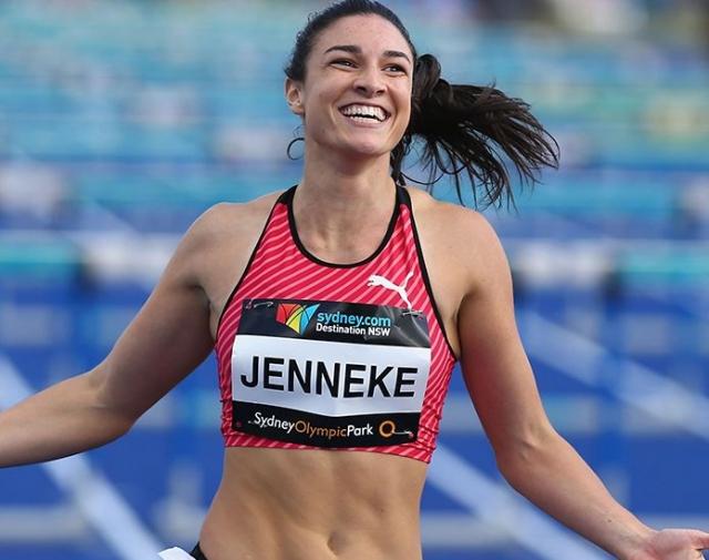 97. Мишель Дженнике. Австралийская легкоатлетка вдохновила пользователей своими рекордами и красотой.