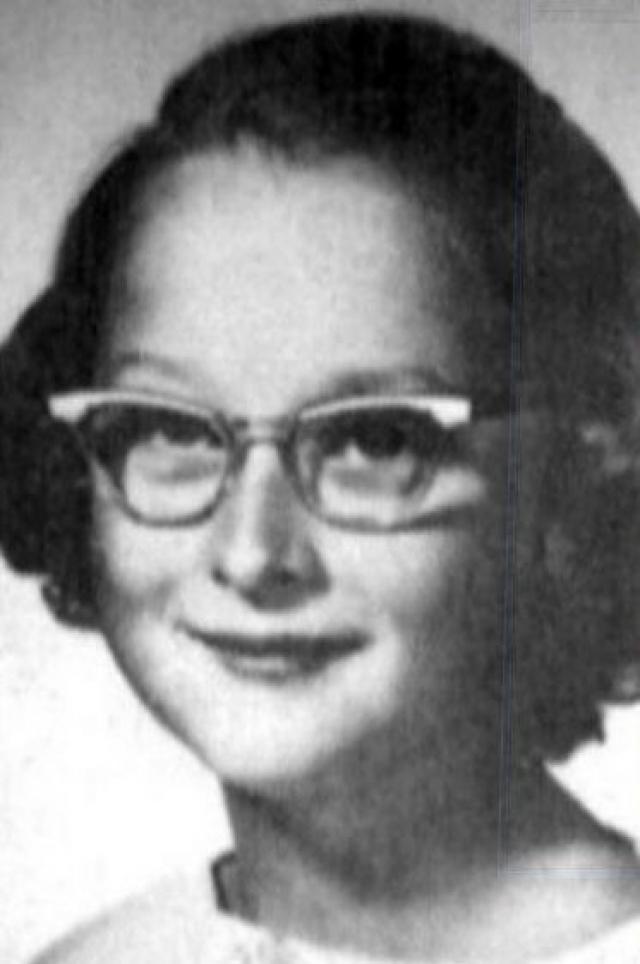 Мэрил Стрип. Подобным был и детский образ другой известной актрисы.