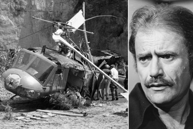 Вертолет висел в воздухе примерно в 7 метрах над ними, когда под воздействием пиротехнических взрывов он потерял управление и рухнул на землю. Вик Морроу был обезглавлен вместе с одним из детей-актеров.