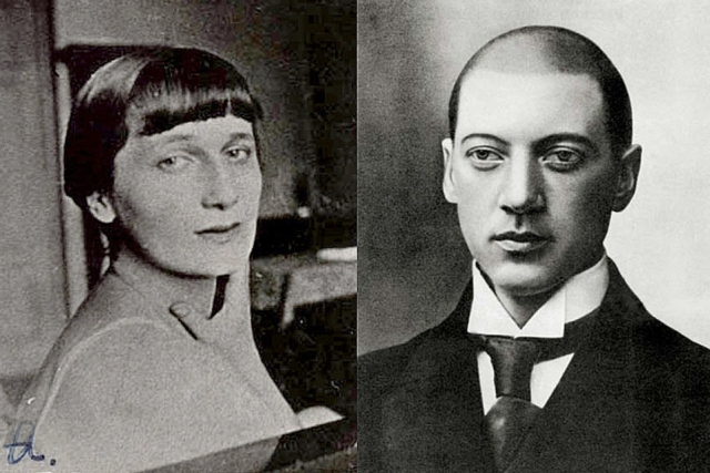 Пара обвенчалась 25 апреля 1910 года. Родственники Ахматовой считали, что из брака ничего хорошего не получится, и никто из них не пришел на венчание, что глубоко ее оскорбило.