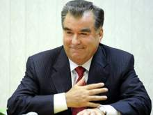 Вертолет с президентом Таджикистана на борту