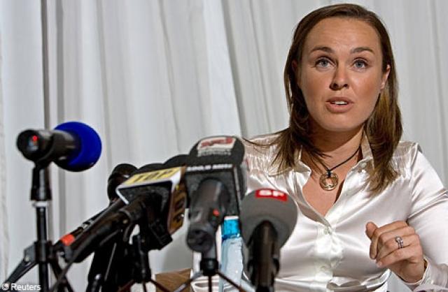 Мартина отрицала все обвинения, утверждая, что никогда в жизни не принимала наркотиков и что 1000% невиновна.