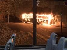 В Казахстане сгорел автобус с людьми: погибли 52 человека