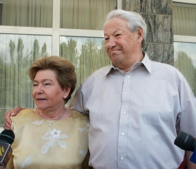 Когда Борис стал президентом, его супруга посвятила себя благотворительности. По итогам 2011 года она вошла в пятерку рейтинга самых влиятельный женщин России, который был составлен отечественными СМИ.