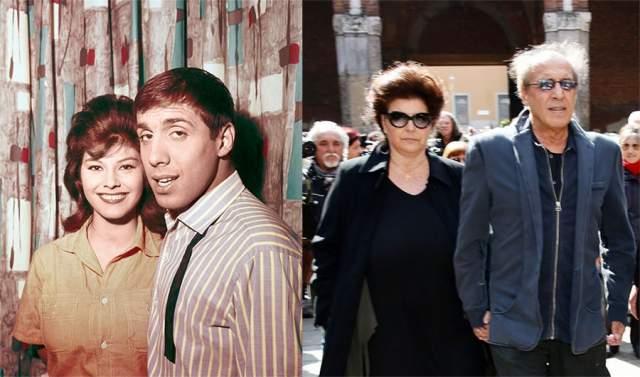 Между тем, несмотря на явную сексуальность, Челентано всю жизнь прожил с одной-единственной женщиной - актрисой Клаудией Мори. У них трое детей, а в 2014 году они отметили золотую свадьбу.