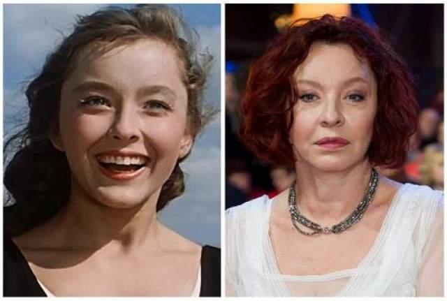 """Анастасия Вертинская впервые снялась в фильме """"Алые паруса"""" в семнадцатилетнем возрасте."""