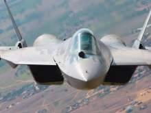 В Сети опубликовано уникальное видео полета Су-57