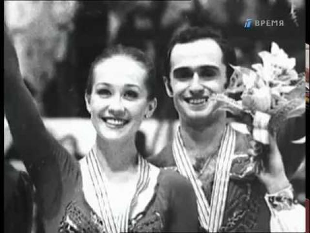 Наталья Линичук. Она из самых привлекательных советских спортсменок становилась неоднократной чемпионкой в танцах на льду.