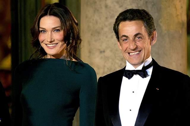 Уже позже Карла стала 3-ей женой французского президента Николя Саркози.