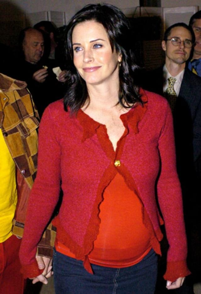 Кортни Кокс. История американской комедиантки Кортни Кокс менее радужная. В 2001-2010 Кокс перенесла 8 выкидышей.