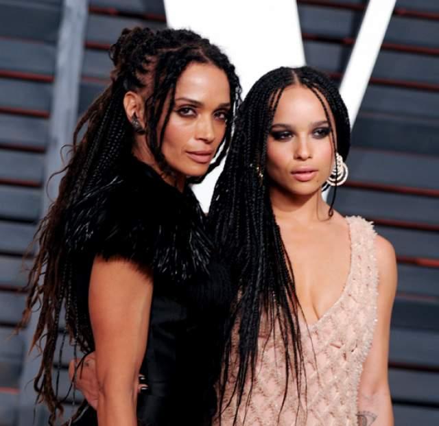 Лиза Бонет. Актриса и ее дочь от известного музыканта Ленни Кравица, Зои, очень похожи и проводят много времени вместе.