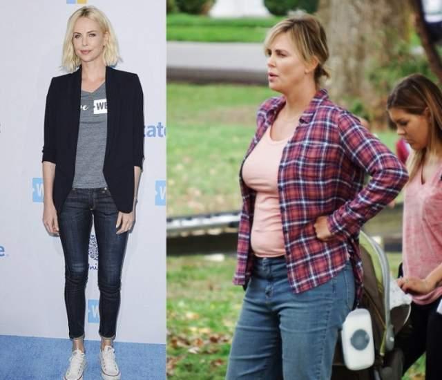 """Она призналась, что, когда снималась в """"Монстре"""", ей хватило пяти дней на строгой диете, чтобы ее вес пришел в норму. А сейчас, когда ей за 40, организм ведет себя совсем иначе."""